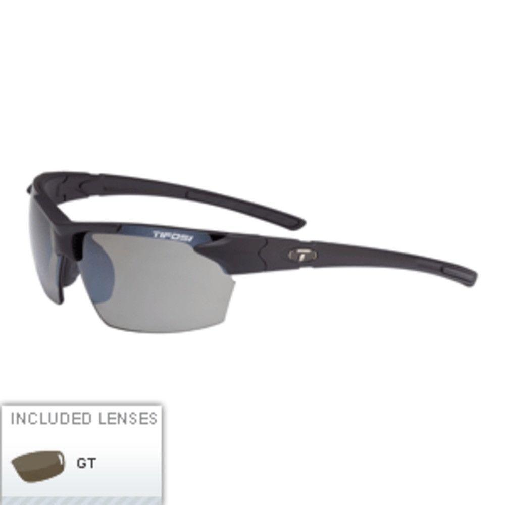 Tifosi Jet Single Lens Sunglasses - Matte Black