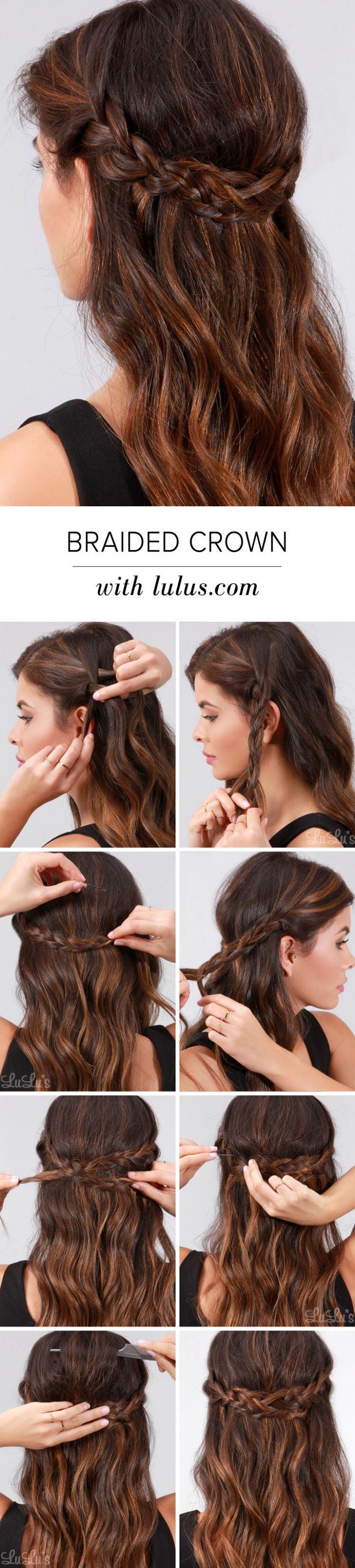 easy braids that will fix any bad hair day frizzy hair braid