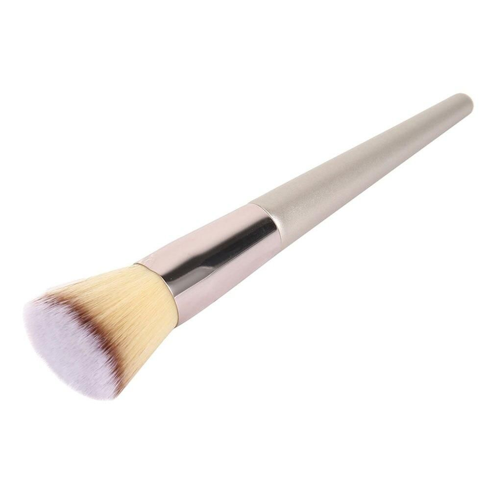 Photo of Champagne Makeup Brushes for Cosmetic Foundation Powder Blush Eyeshadow Blending Make Up Brush Beauty Tool Brochas Maquillaje – C