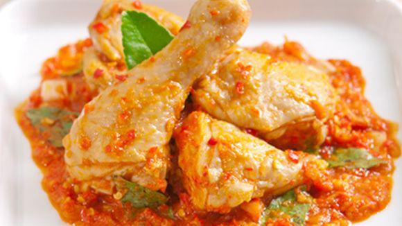 Ayam Rica Rica Masakan Pedas Khas Manado Asian Fish Recipes Cuisine Recipes Cooking
