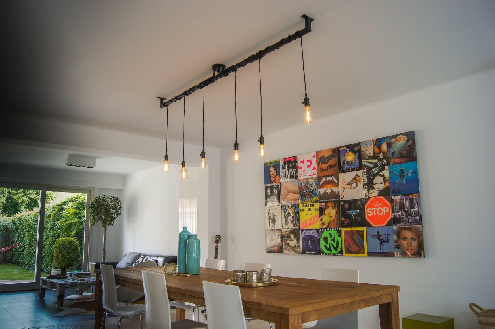 Industriele Keuken Lamp : Industriële keuken of eettafel lamp kopen opvallend industrieel