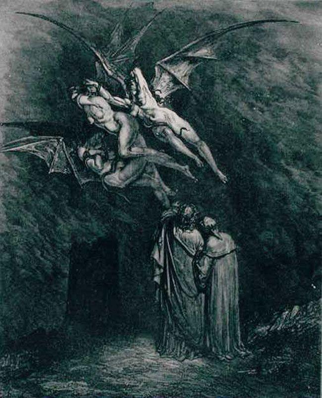 dantes inferno virgil