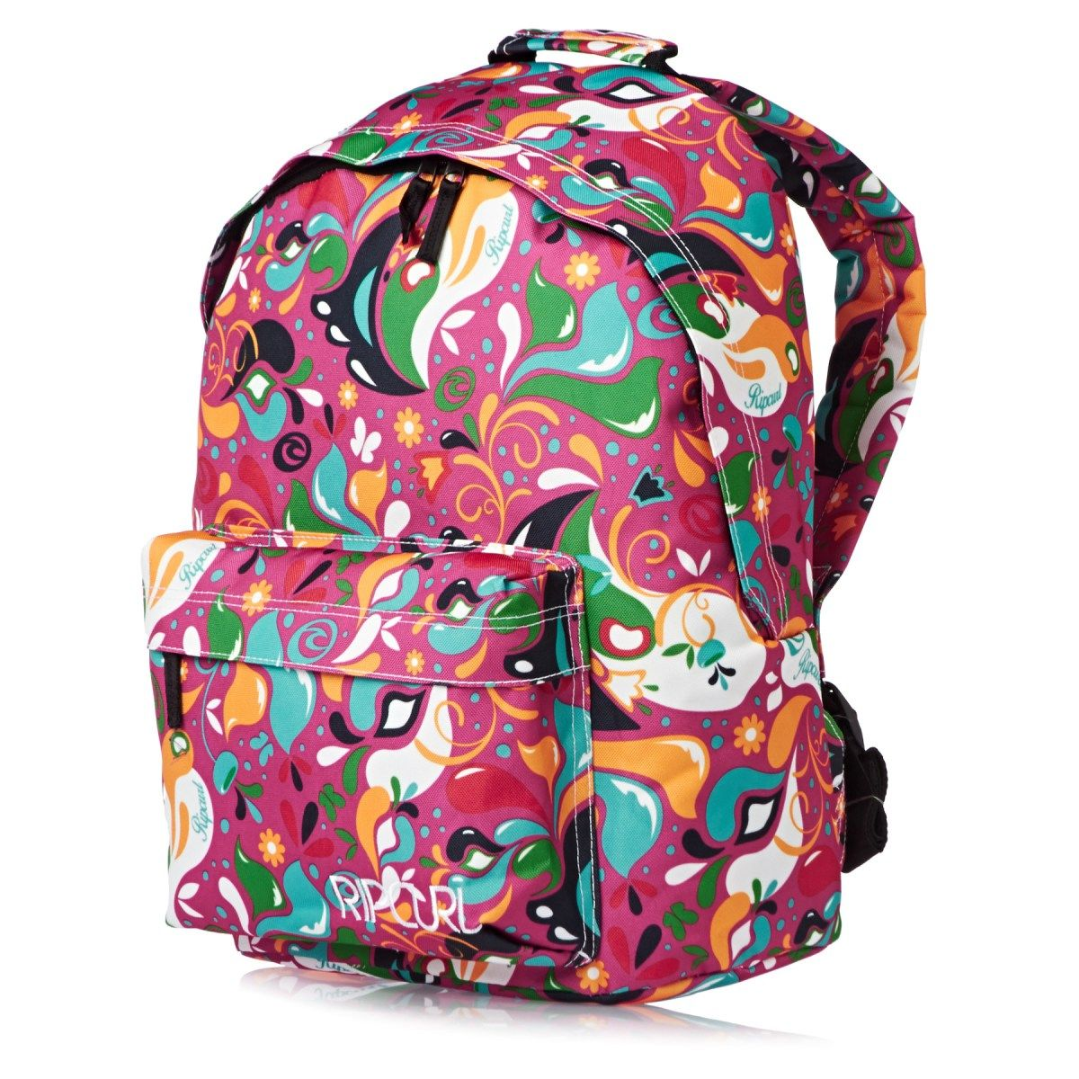8ef60f2f0130 Women s Rip Curl Backpacks - Rip Curl Drops Dome School Pack - Pink ...