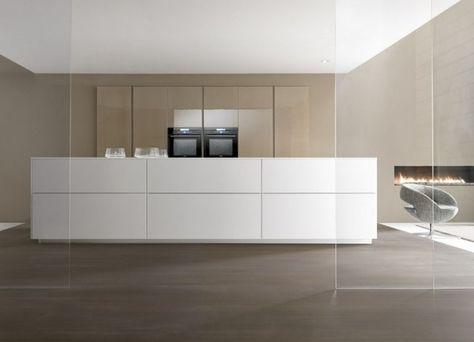 küche kochinsel modern weiß beige designer Marconato Zappa Comprex ...