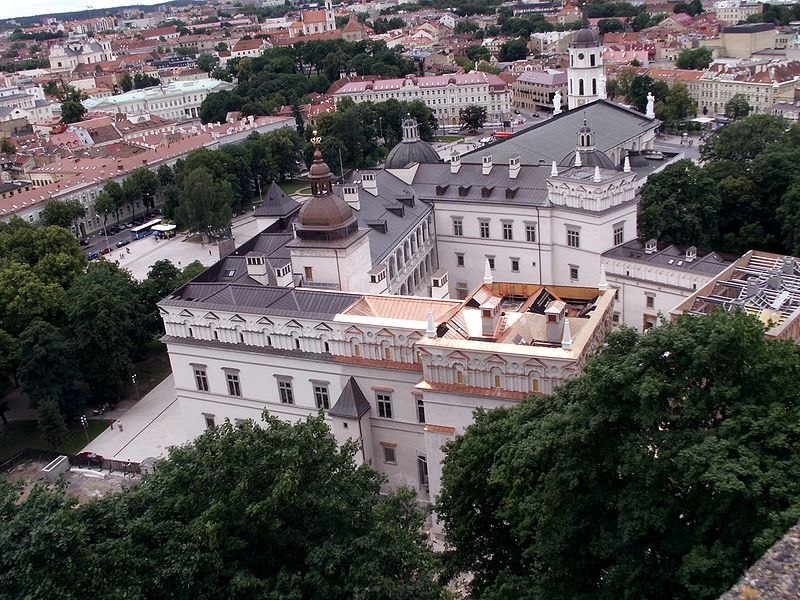 Royal Palace of Lithuania in Vilnius, Lithuania