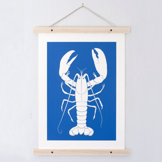 Impression de homard. Todd Jarvis Co. par ToddJarvisCo sur Etsy