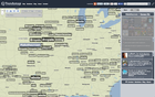 Website for finding trending #hashtags according to location.