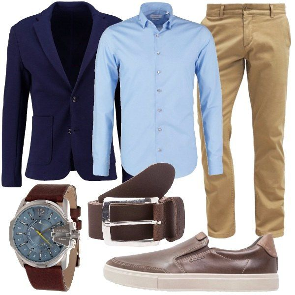 Outfit composto da pantaloni slim d17ce7bdca3