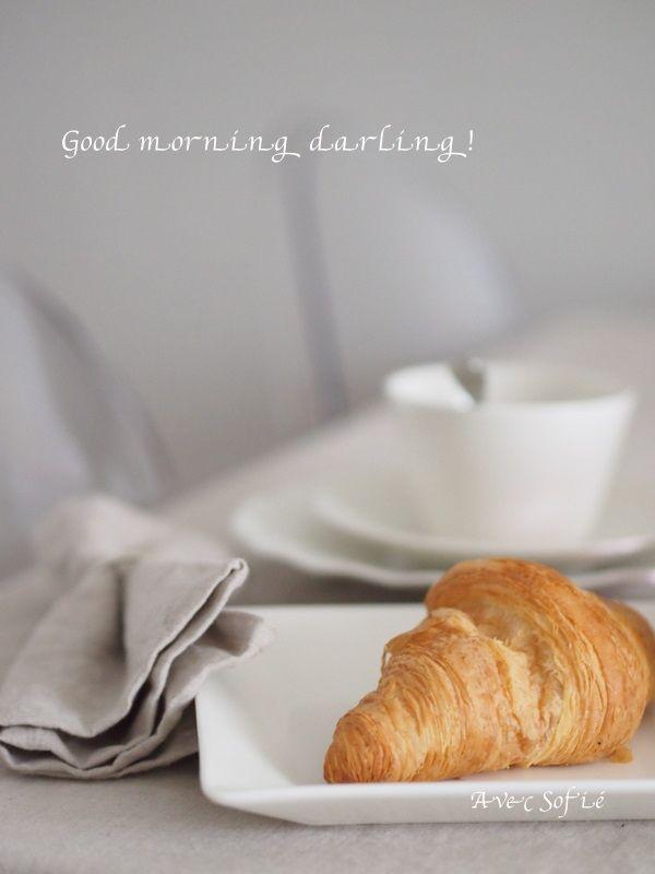 Avec Sofié -blog/Morning table setting