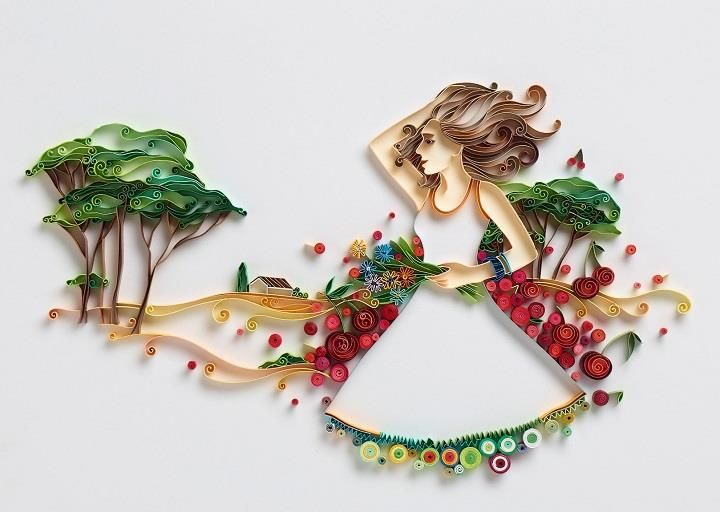 Yulia Brodskaya - Quilled Paper Art