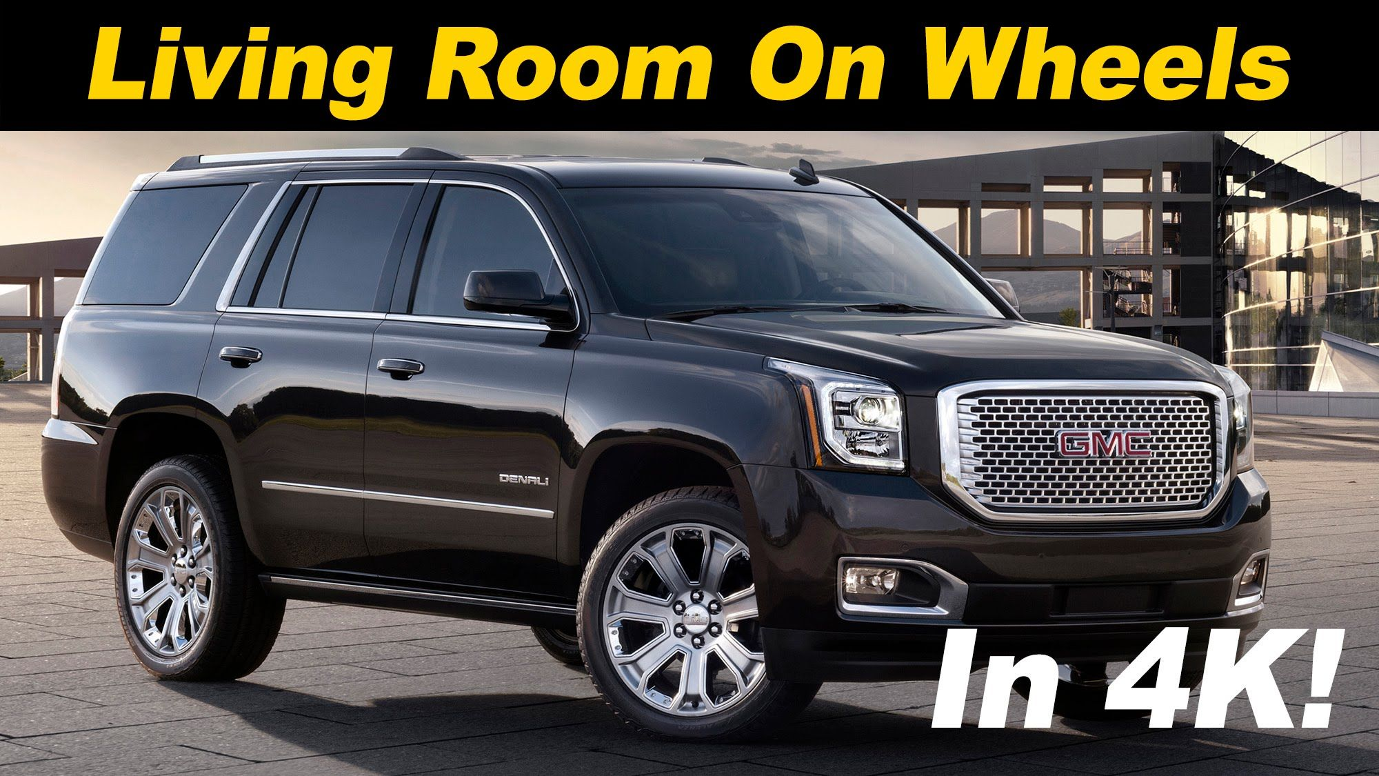2016 2017 Gmc Yukon Denali Xl Review Also Covers Tahoe