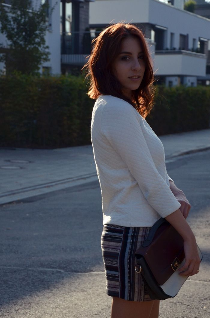 Outfit: Stepp and Jacquard | http://www.glasschuh.com/2014/10/outfit-stepp-jacquard/ #glasschuhloves #longbob #hair