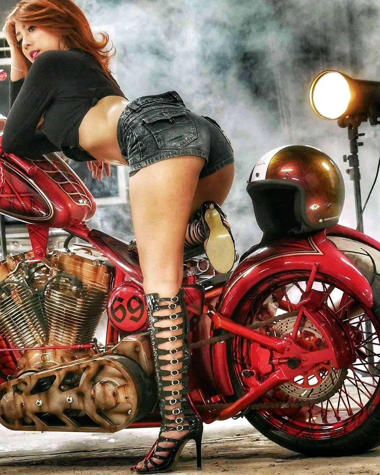 Tits pics hardcore biker girls porn