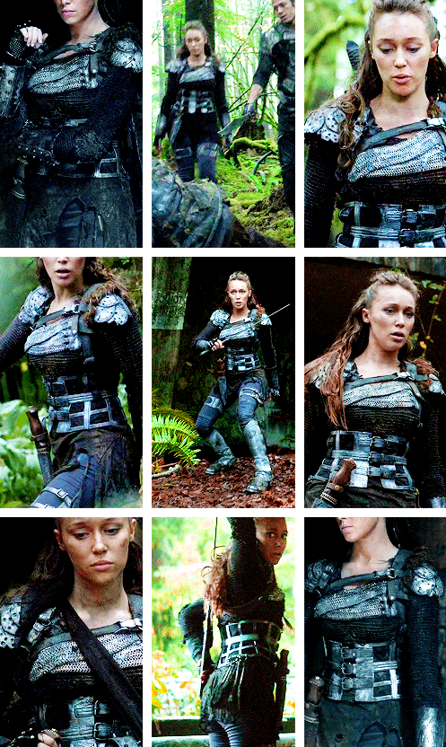 Commander Lexa Week: Favorite Outfits | The 100 CW in 2019
