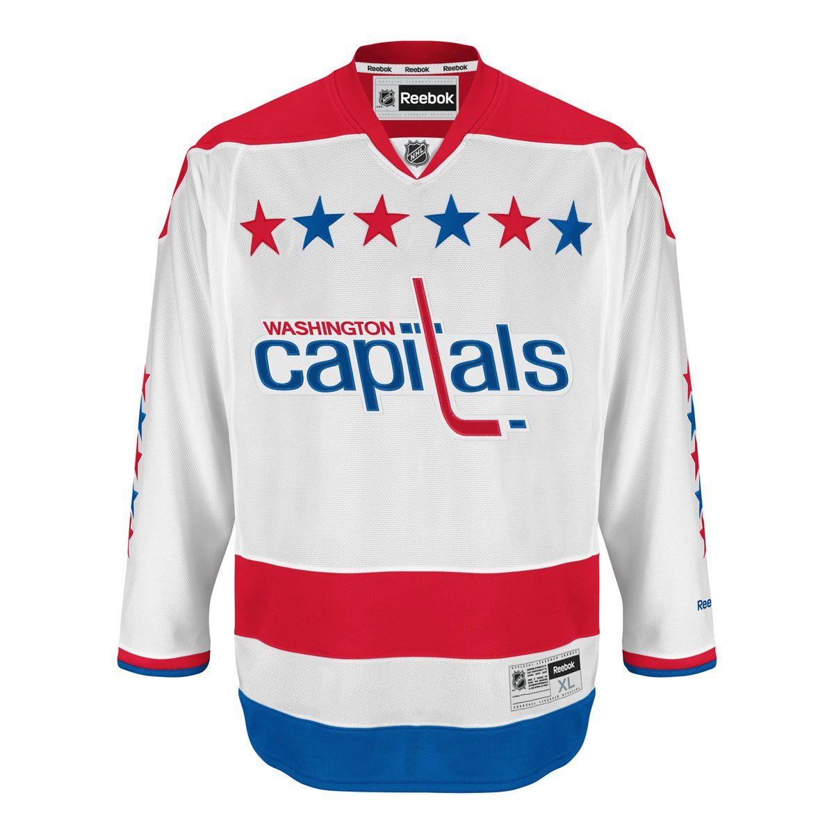low priced 91580 75ce0 Washington Capitals Reebok Premier Replica Alternate NHL ...