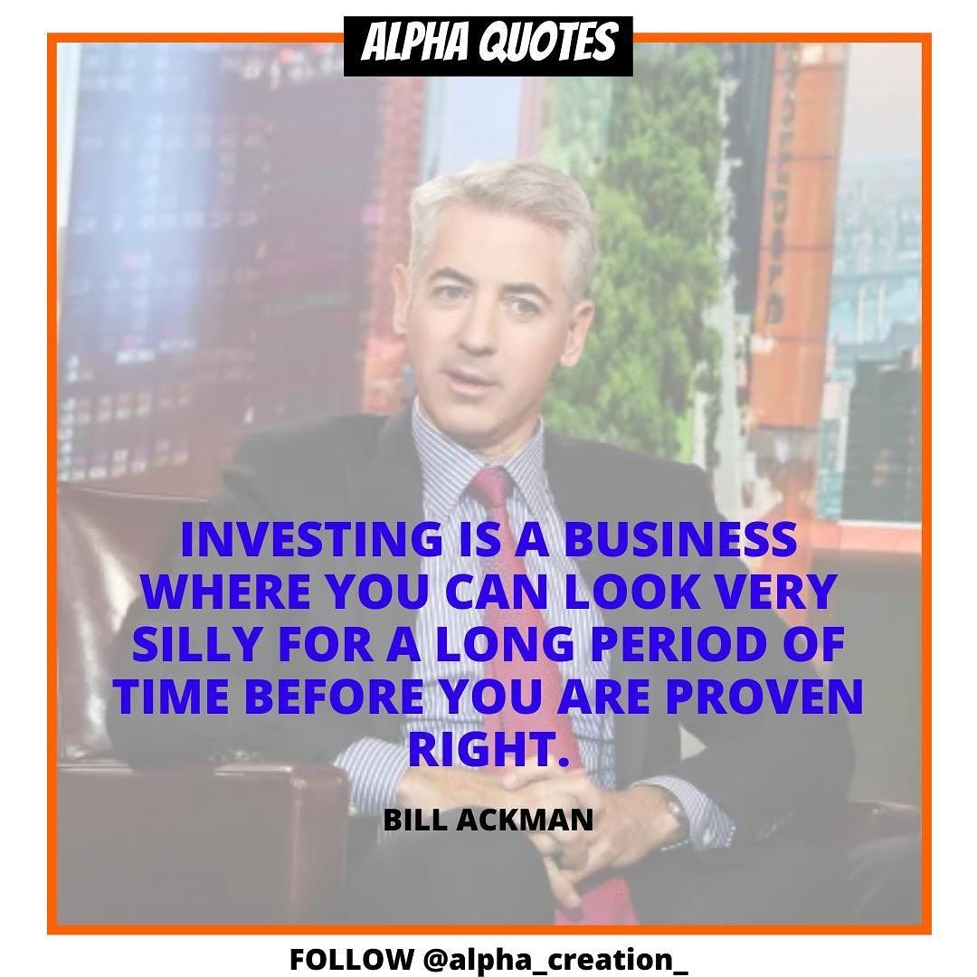 Billionaire Hedge Fund Manager Bill Ackman Is Known For His Controversial Trading Practices He Made A Fortune New Business Ideas Investing Hedge Fund Manager