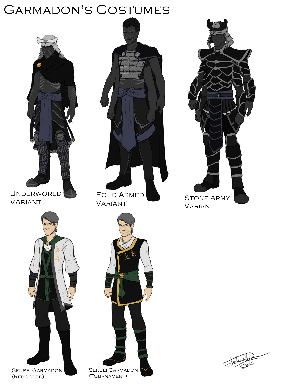 Garmadons Costume Design By Joshuad17deviantartcom On
