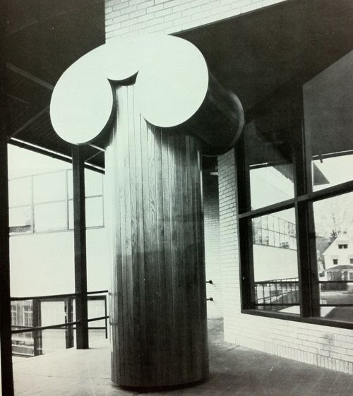 Galeria Arquitectonica: The Plywood Order, Robert Venturi, Sometime In The Late