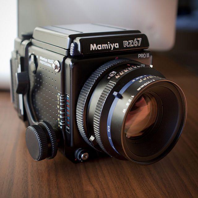 Mamiya RZ67 Pro II with Sekor Z 110mm f/2 8 W and film back