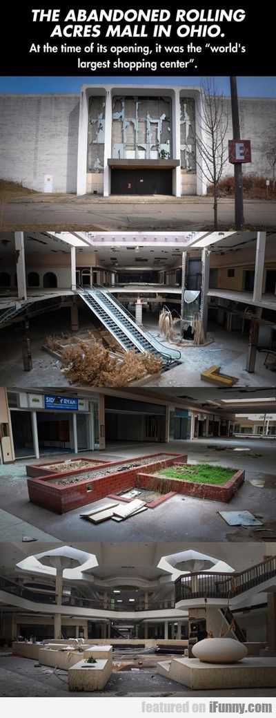The Abandoned Rolling Acres Mall In Ohio... - http://wittybugs.com/the-abandoned-rolling-acres-mall-in-ohio/