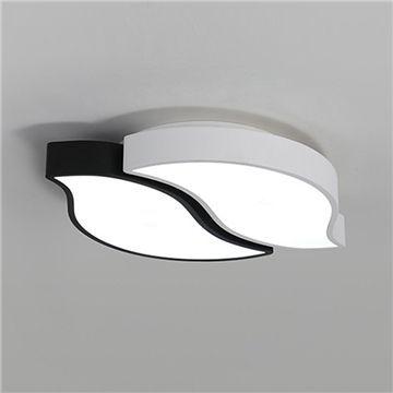 Modern Led Ceiling Lamp Design Black White Sheet For Living Room Bedroom Ceiling Lamp Design Lamps Living Room Led Flush Mount