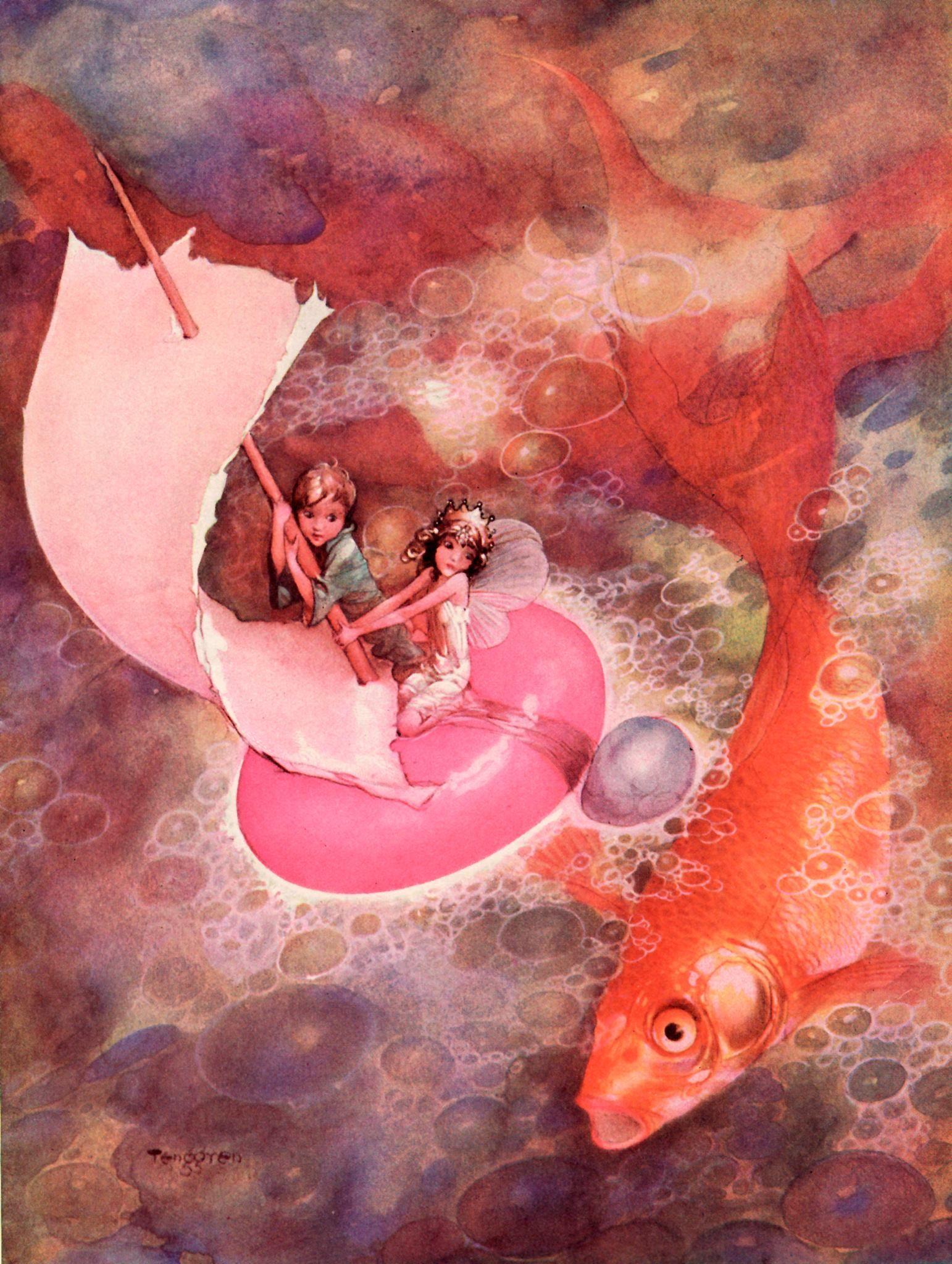 Charles Vess - lovely water | Book Art: Children | Pinterest ...