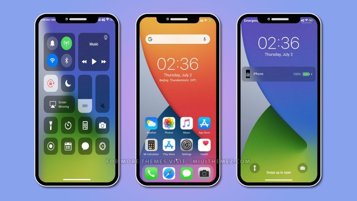 Ios 14 1 Dual Mode V12 Miui Theme Best Ios 14 Theme For Xiaomi Devices Theme Store App New Ios Coloring Apps
