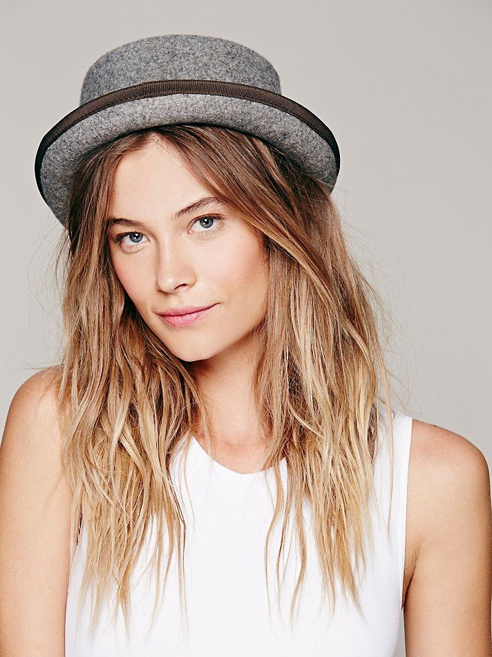 Free People Patton Porkpie Hat c40ff6ae9d4