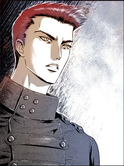 """Ian from """"Dàimones - Prima Lux"""", our vampire comic series."""