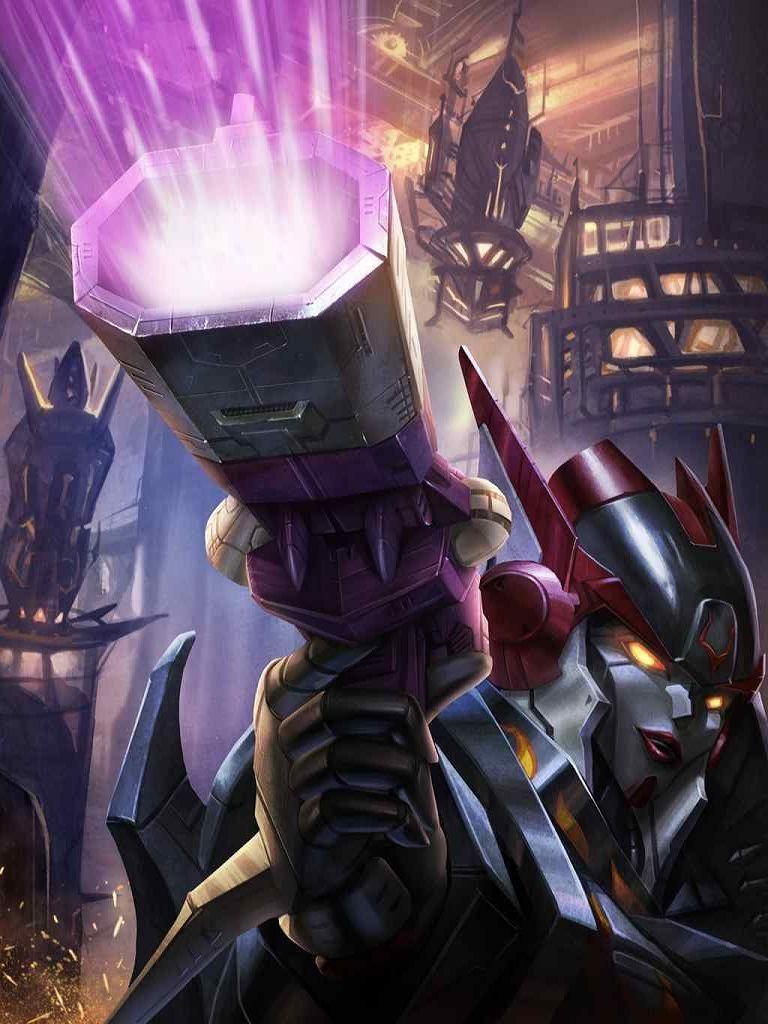 Decepticon Shockwave Artwork From Transformers Legends Game