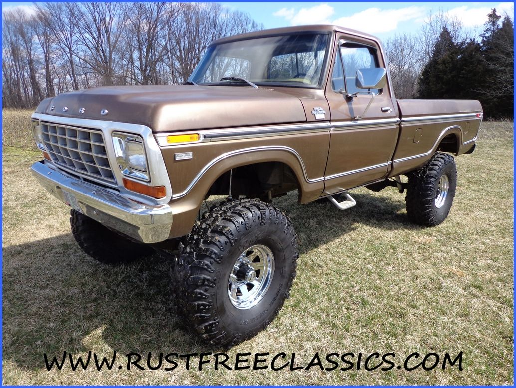 79 Ford Truck 1979 F250 Long Bed 4x4 Regular Lifted Ford Trucks