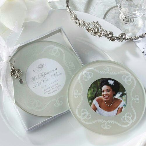 """Wedding Ideas With A Difference: """"The Difference A Kiss Can Make"""" Frosted-Glass Photo"""