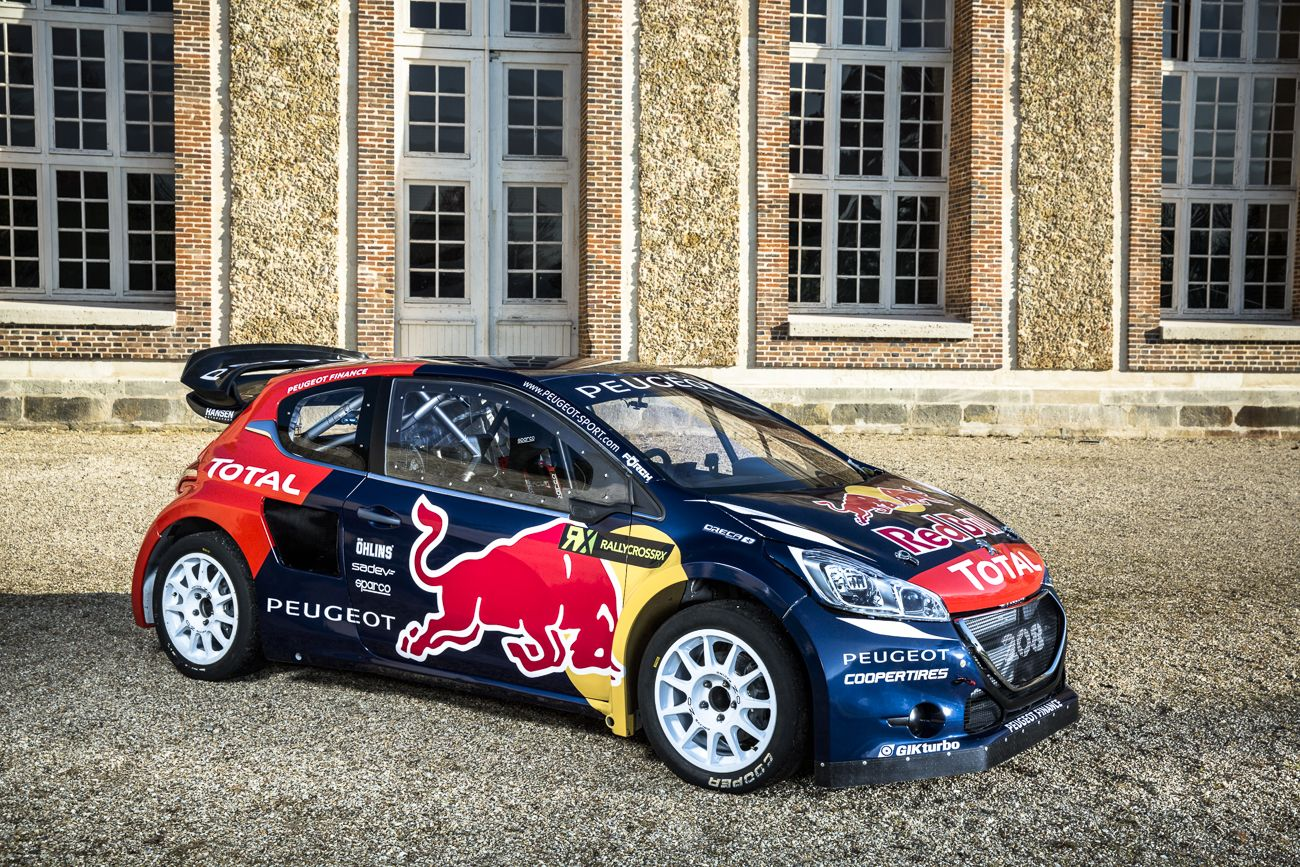 Garage Peugeot Meudon World Rx Team Peugeot Hansen Wrc Rally Car Peugeot Et Wrx
