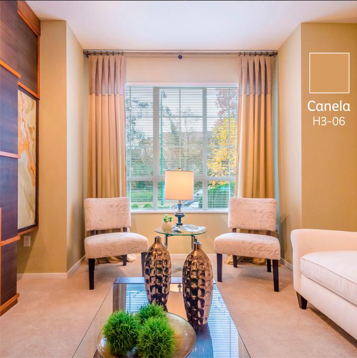 Canela comex colores casa pinterest canela colores de habitaciones y paleta colores - Paleta de colores para paredes interiores ...
