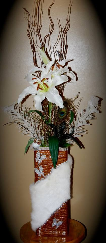 I design beautiful vases for beautiful places