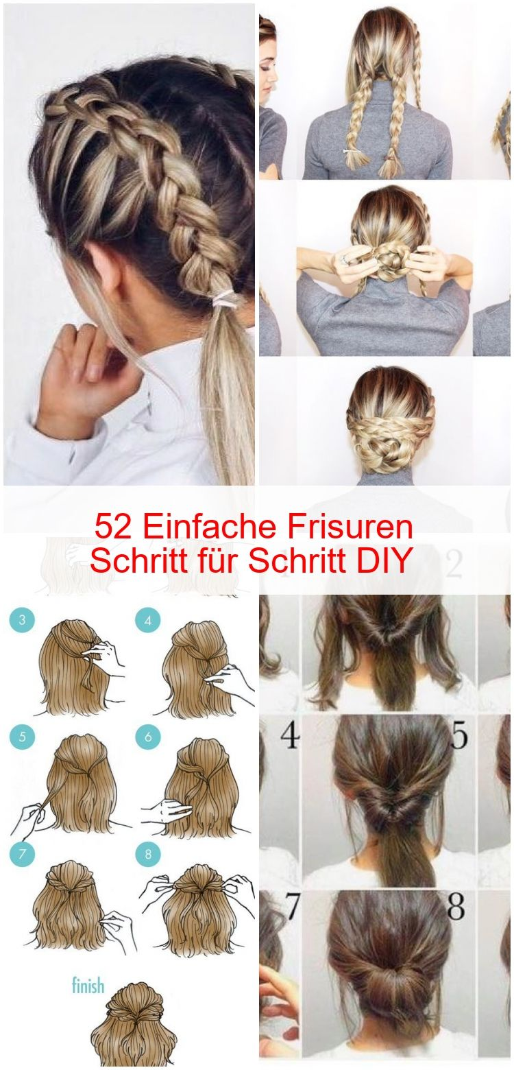 170 Easy Hairstyles Step By Step Diy Hair Styling Can Help You To Stand Apart From The Crowds Page 62 Short Hair Styles Medium Hair Styles Short Hair Updo