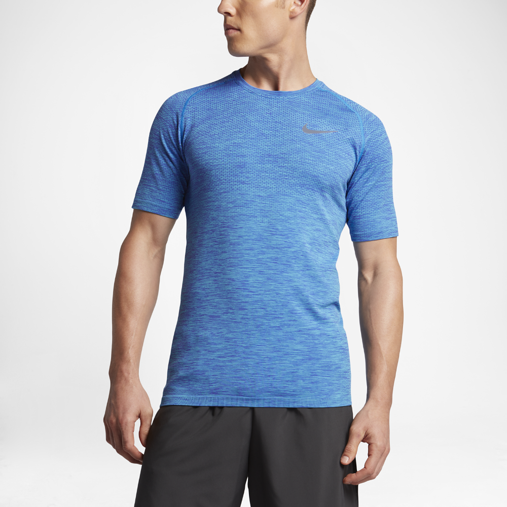 52d53094 Nike Dry Knit Men's Short Sleeve Running Top Size | Products ...
