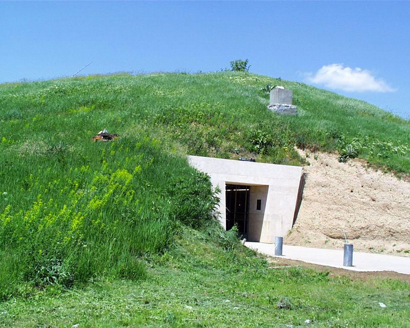 Thracian Tomb of Sveshtari, Bulgaria.