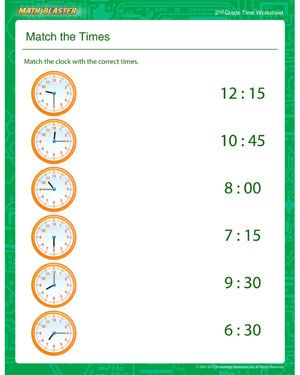 17 Best images about Children's - Telling Time on Pinterest ...