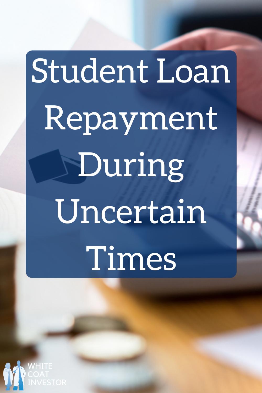 Student Loan Repayment During Uncertain Times In Today S Wci Scholarship Sponsored Post Laurel In 2020 Student Loan Repayment Federal Student Loans Student Loan Debt