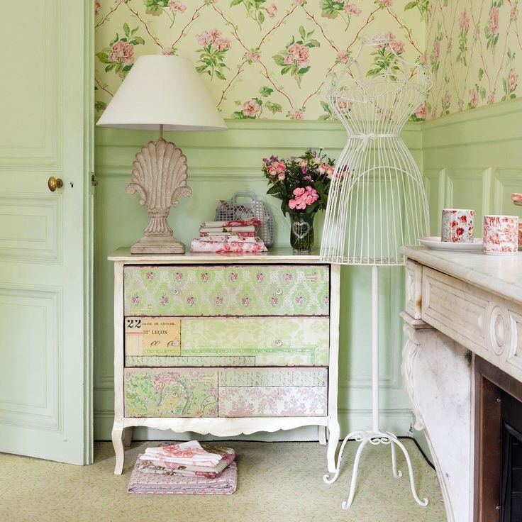 Muebles vintage virginia esber nuestros post shabby chic cottage romantic shabby chic y - Habitaciones shabby chic ...
