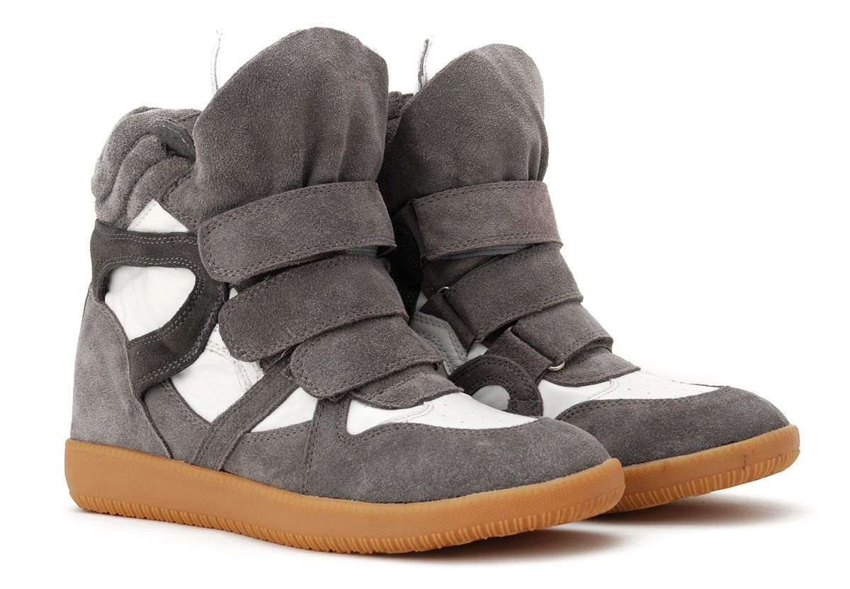 659592646d Isabel Marant Suede Grey White High-top Sneakers Or these. These would be  fine too