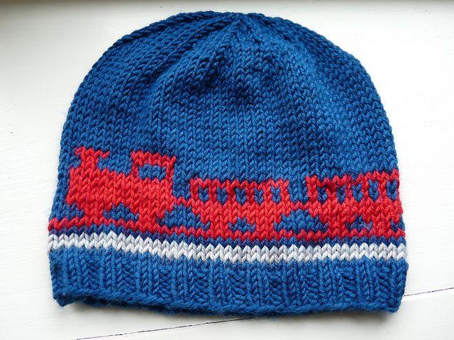 Ravelry: Choo-choo toque pattern by L Gordon-Norman | Hats ...