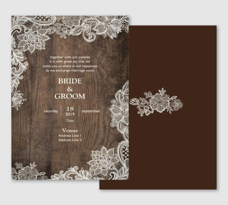 Invitations Announcements Templates Designs Vistapri Wedding Invitation Templates Rustic Inexpensive Wedding Invitations Personalised Wedding Invitations