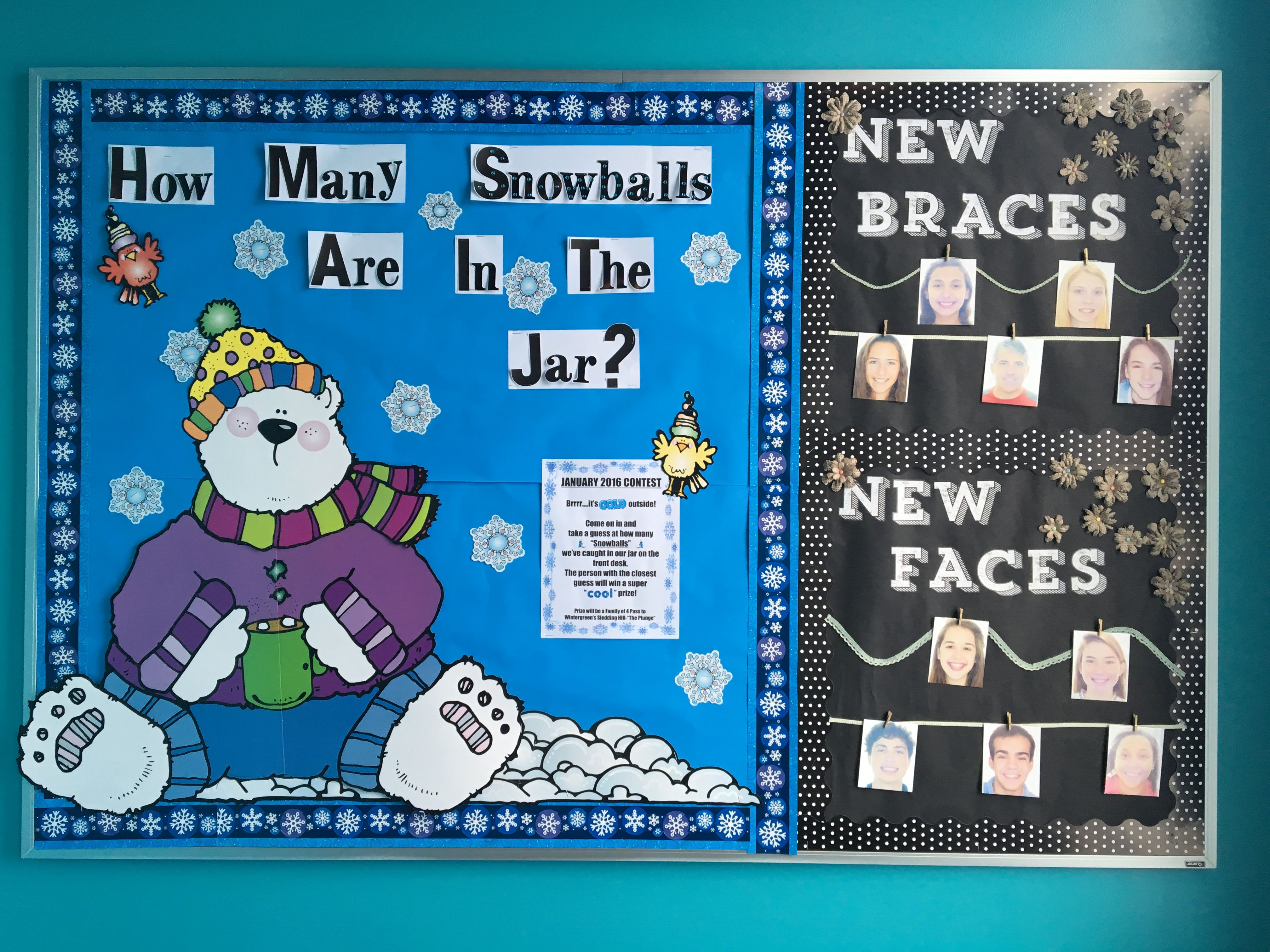 Orthodontic Bulletin Board Contests New Braces New Faces Richmond Orthodontics Orthodontics Pediatric Dentistry Orthodontic Practice