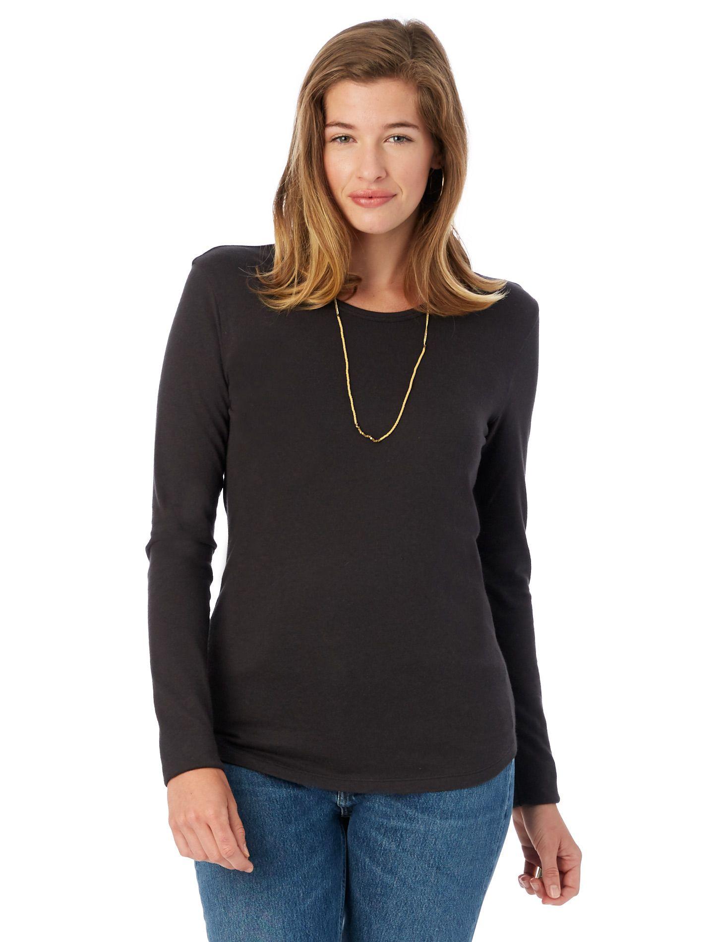 8fa4695fc Alternative Apparel - Keepsake Vintage Jersey Long Sleeve T-Shirt ...