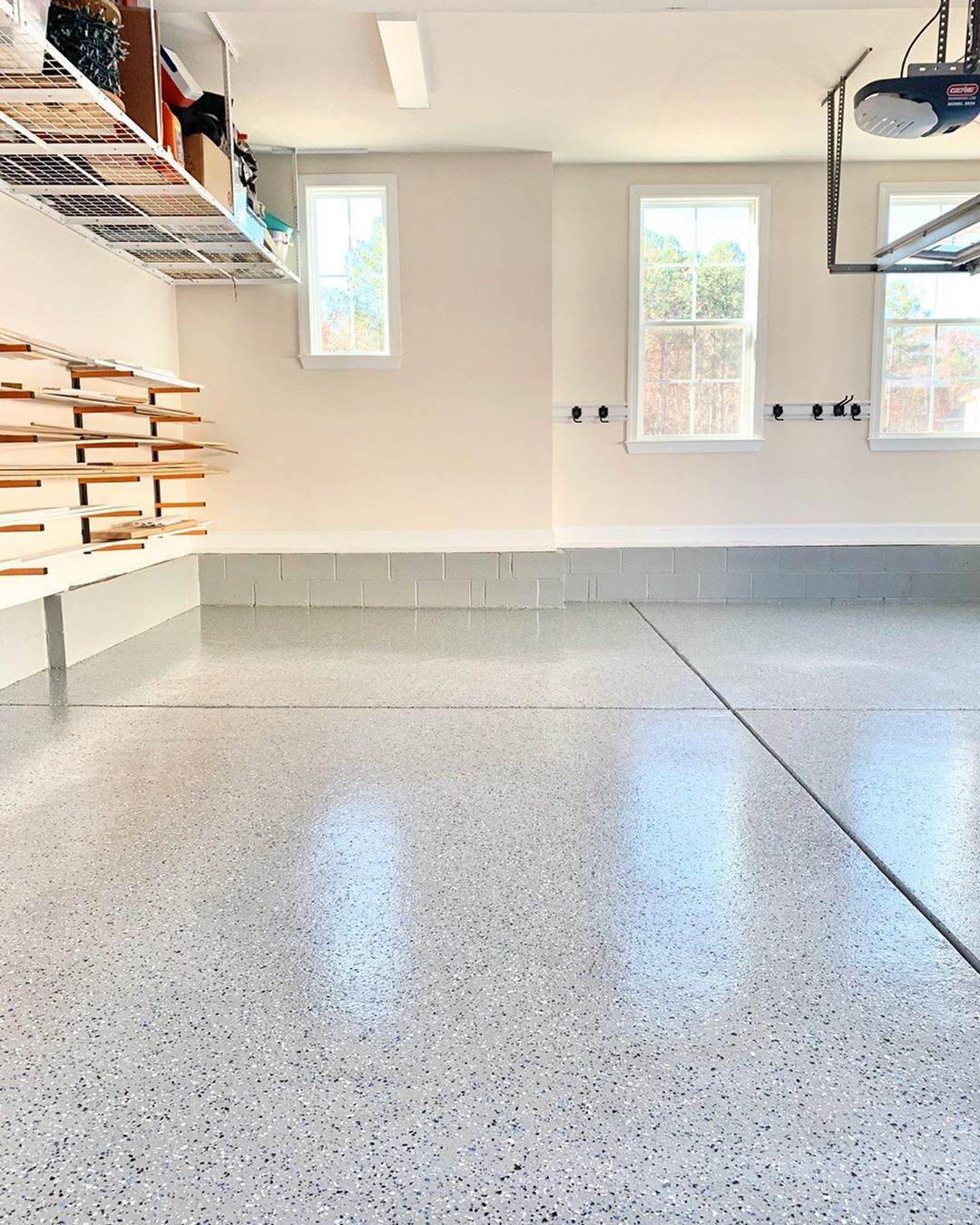 Philip Or Flop On Instagram The Garage Floors Are Done Swipe To See The Before Picture From Just A Few Wee In 2020 Garage Floor Epoxy Garage Floor Garage Floors Diy