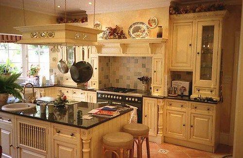 cocina de pino con isla | cocina | Pinterest | Muebles de pino, Pino ...
