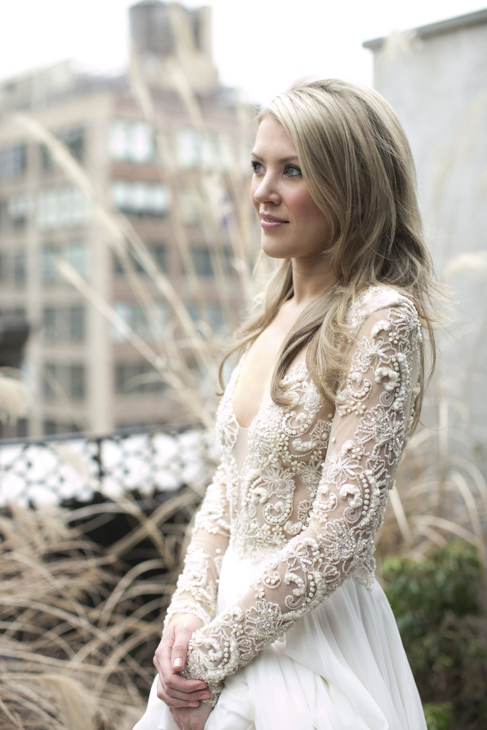 The 35 Most Beautiful Bedazzled Wedding Dresses | Winter weddings ...