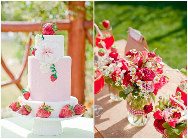 top 5 bridal shower themes 2013 just love strawberry shortcake bringing it back